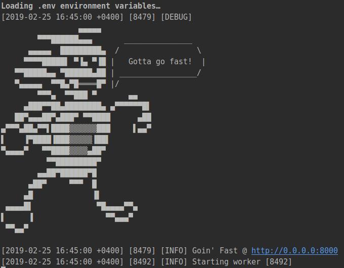 Перевод Как сделать ваш код на Python быстрым и асинхронным с Sanic