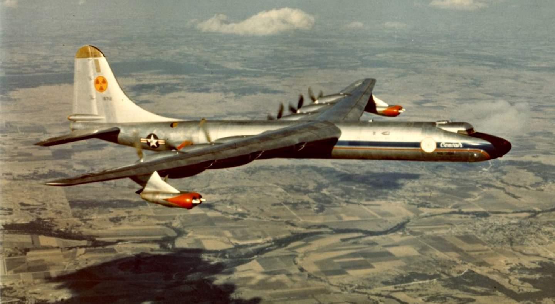 Атомный стратегический бомбардировщик В-36