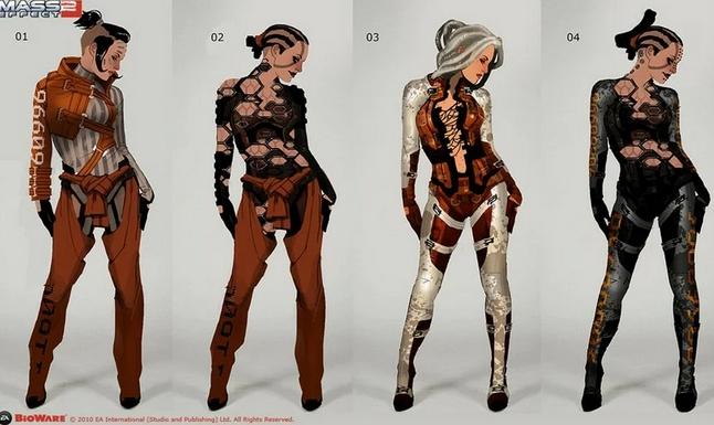 Работа концепт-артиста (концептера) предложить варианты персонажа (например), исходя из тех задания, как правило это серия однотипных объектов, но представленных в разном виде. (Фото: https://cgmag.net/)