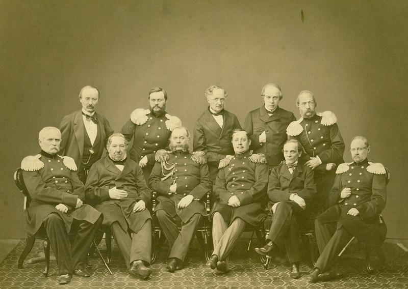 Акционеры ГОРЖД, 1857 год.