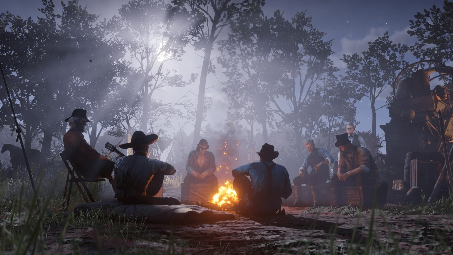 In Red Dead Redemption 2, each trip turns into an interesting adventure with its own story.