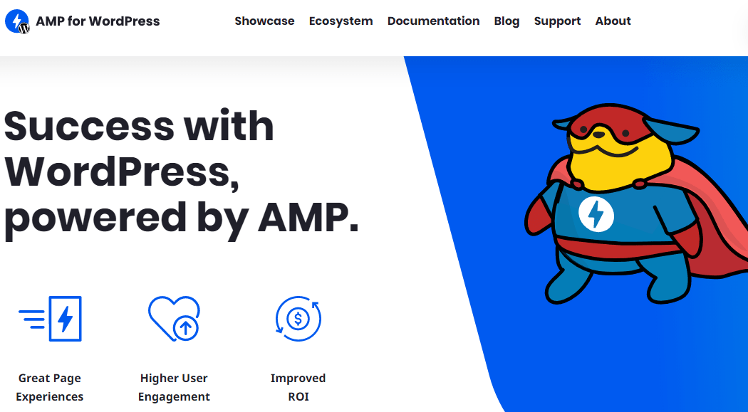 Скриншот: AMP for WordPress