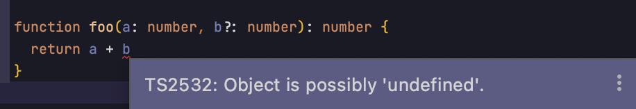 ? означает, что параметр может быть неопределённым.