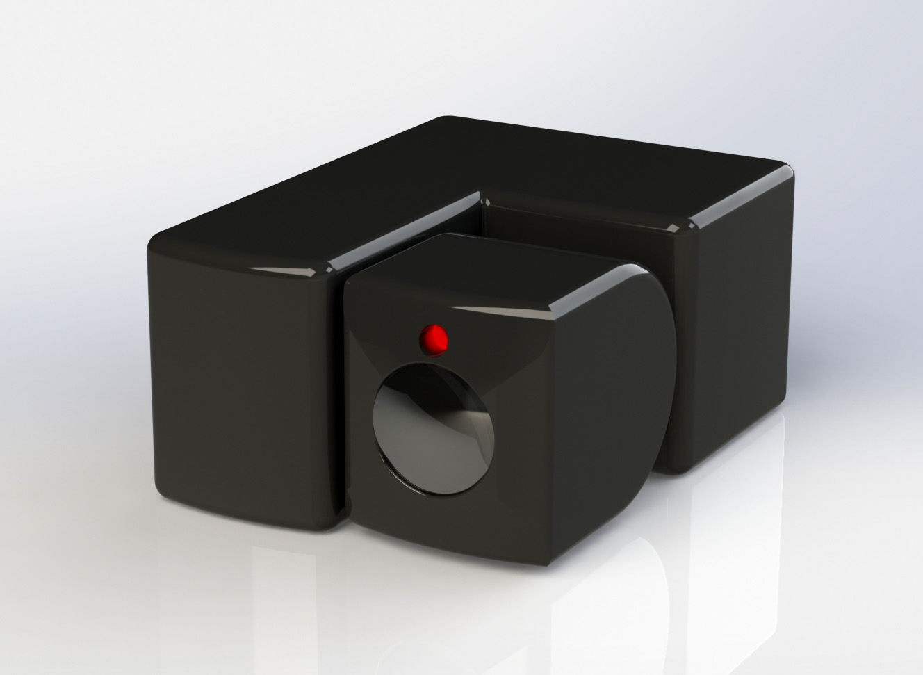 Рисунок 7. 3Д модель счетчика.