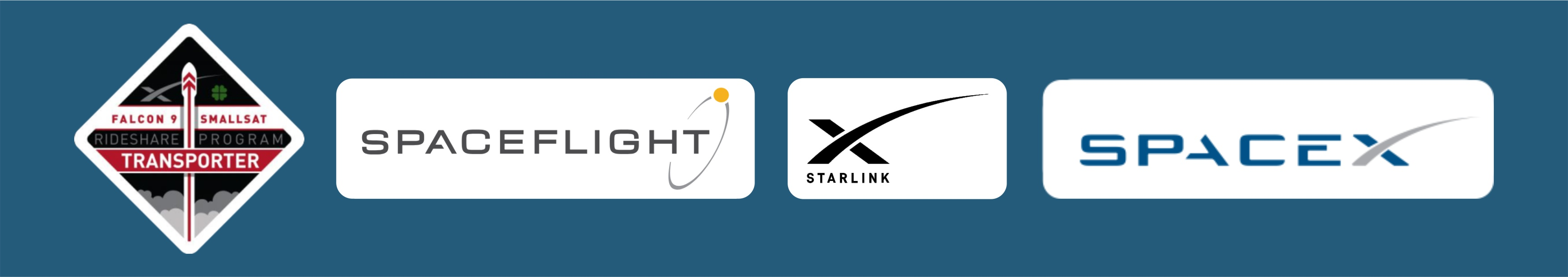 Эмблемы и нашивки миссии Falcon 9/Transporter-1.
