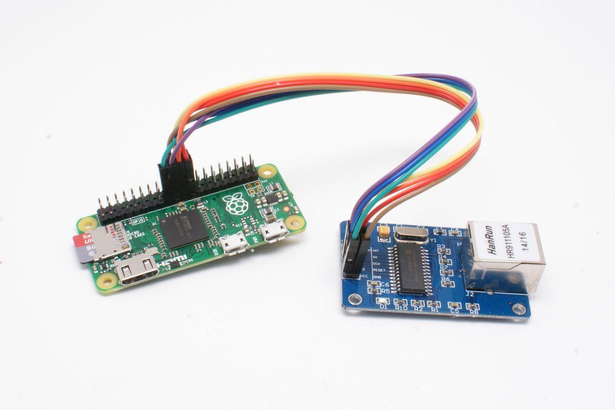 Делаем из ENC28J60 внешнюю USB сетевую карту