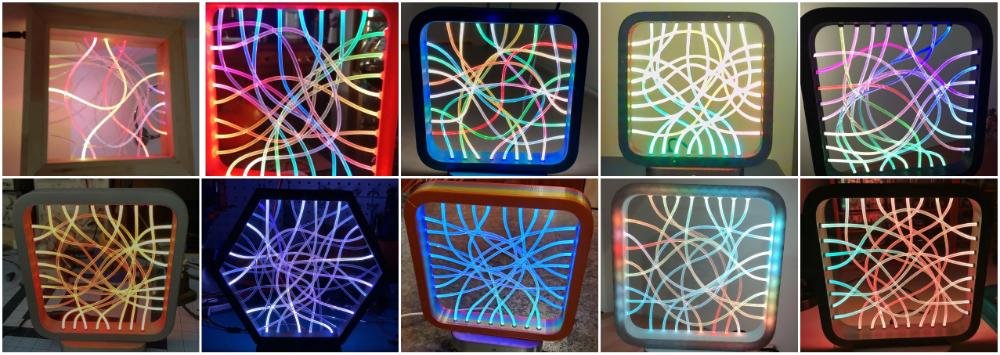 Лампы сделанные по этому проекту
