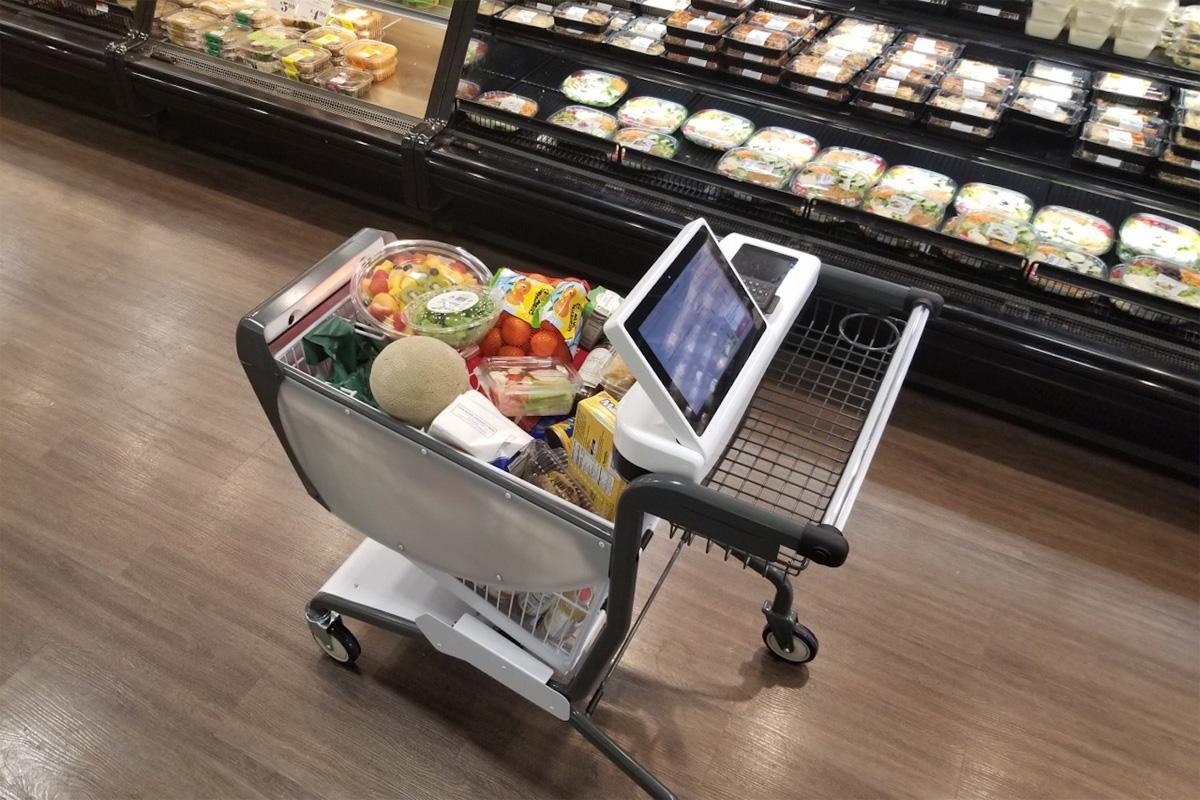 Как умные тележки покоряют супермаркеты в США