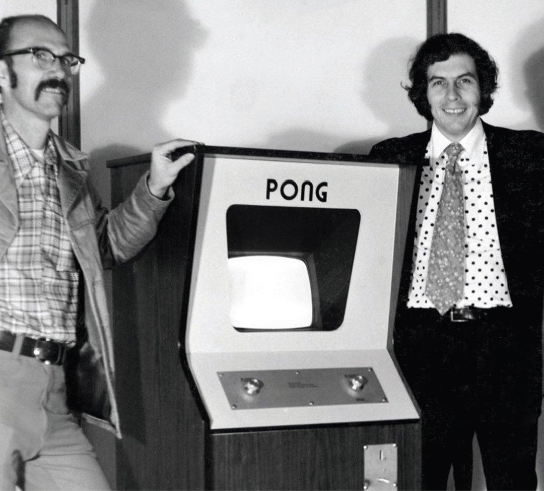 Тед Дебни и Нолан Бушнелл. Фото: Art of Atari, Tim Lapetino, PDF edition
