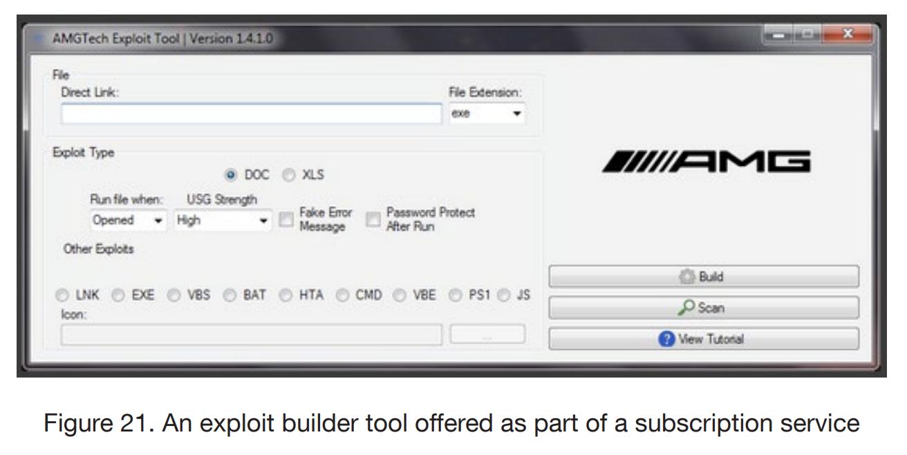 Эксплойт билдер — конструктор вредоносного ПО по подписке