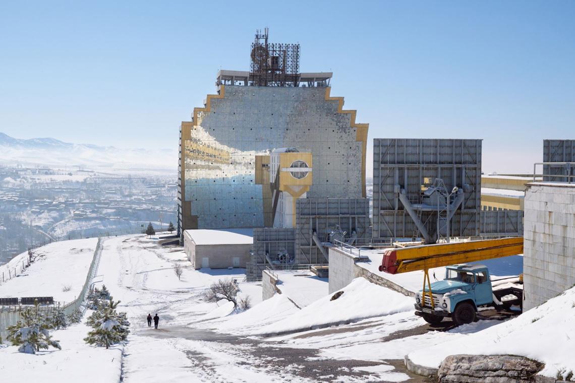 Солнечная печь Паркента (Узбекистан). Возможный прототип наземной станции в системе орбитальных зеркал-концентраторов
