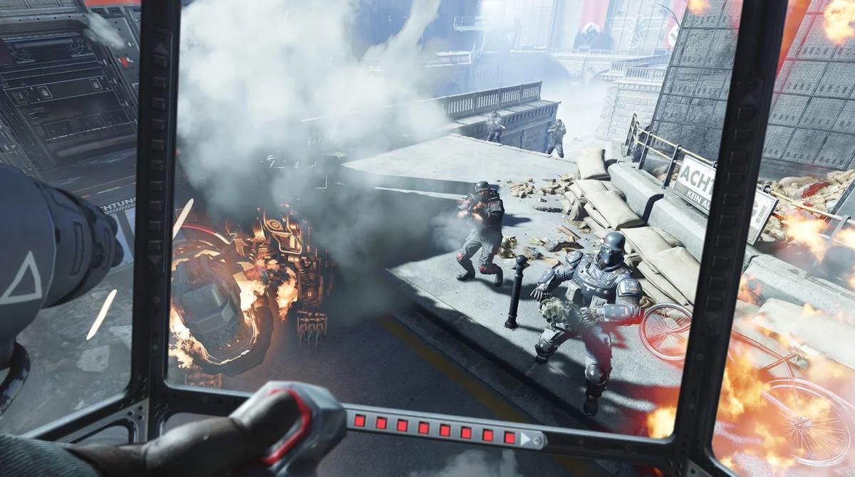 VR-игра Wolfenstein: Cyberpilot компании Arkane Studios/Machine Games
