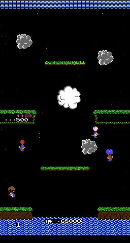 Balloon fight для VS system