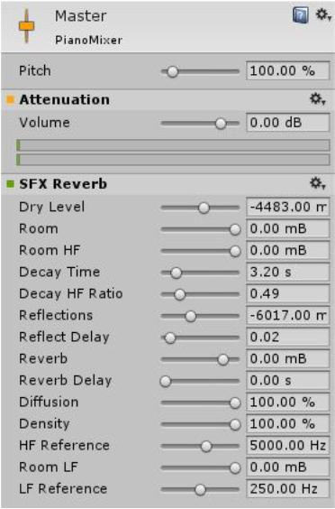 Синтезатор на Unity 3D