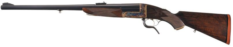 Одноствольная винтовка под патрон .600 Nitro Express производства W. J. Jeffrey.