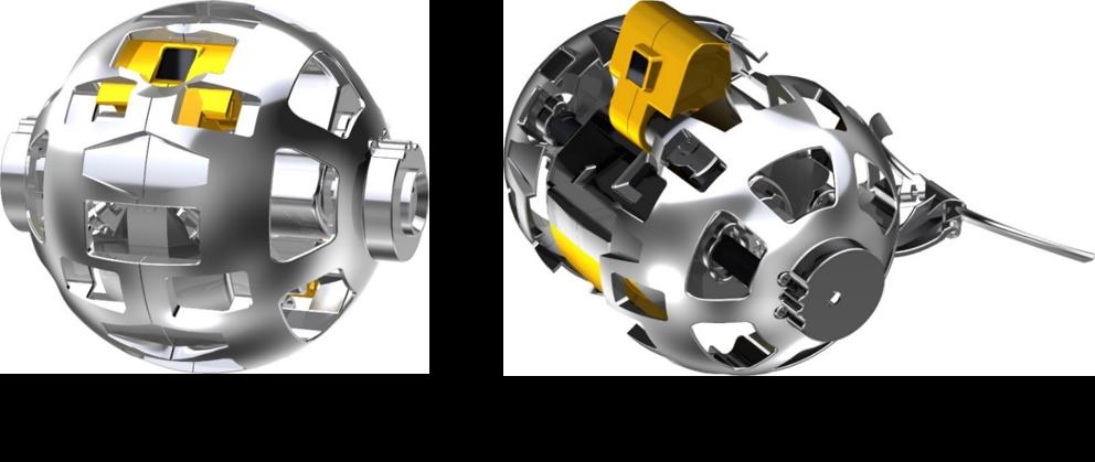 Визуализация мини-лунохода. Источник: JAXA