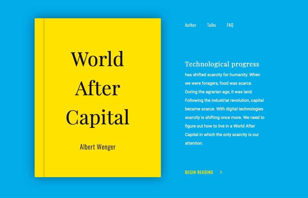 Перевод Мир после капитала Альберта Венгера (часть 37)