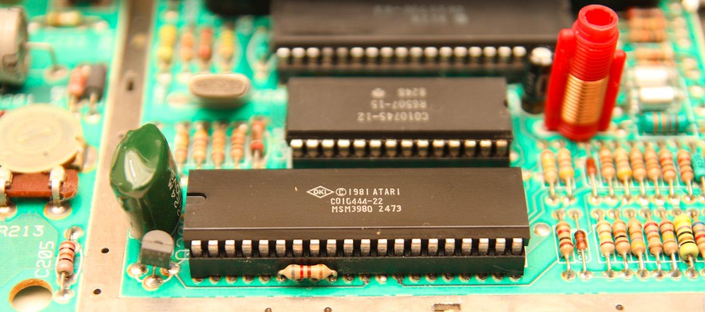 Atari Television Interface Adapter. Фото: Software & Computer Museum
