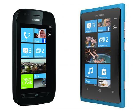 Nokia Lumia 700 и 800