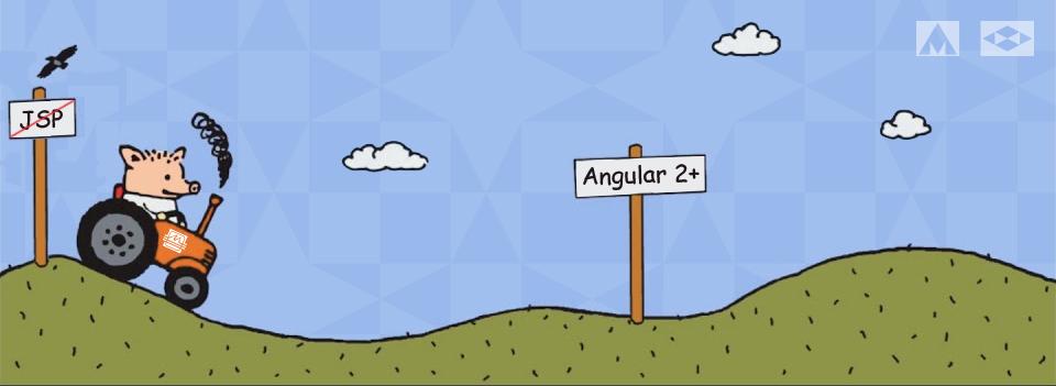 Семилетними шагами миграция с JSP  Angular JS на Angular 2