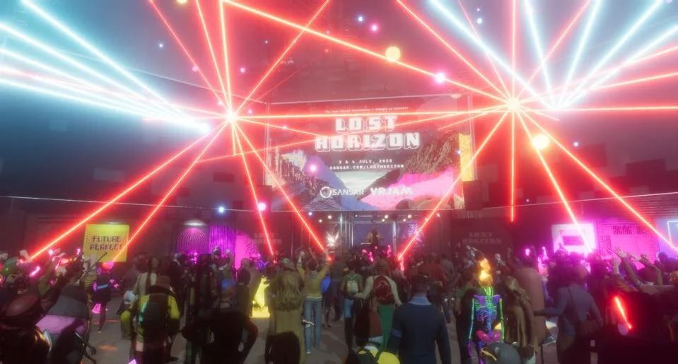 Lost Horizon музыкальный фестиваль в VR