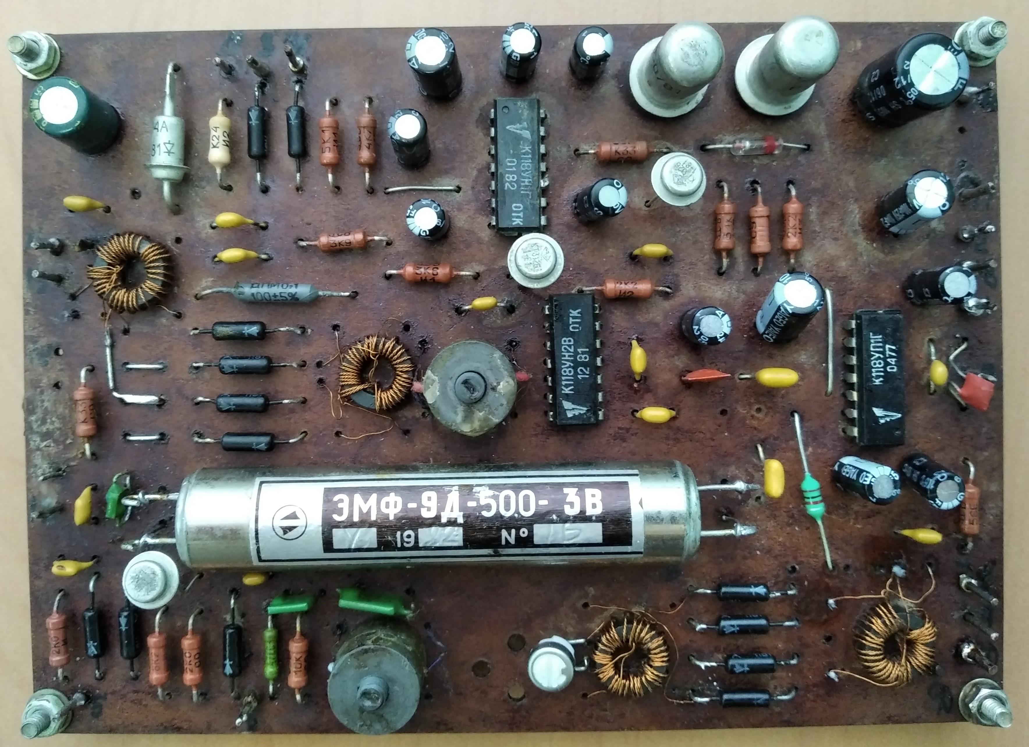 Легендарный трансивер «Радио-76»