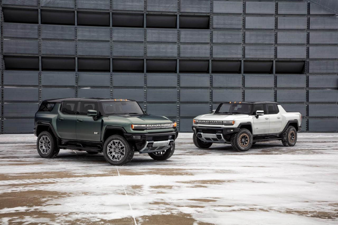 Hummer EV SUV и Hummer EV