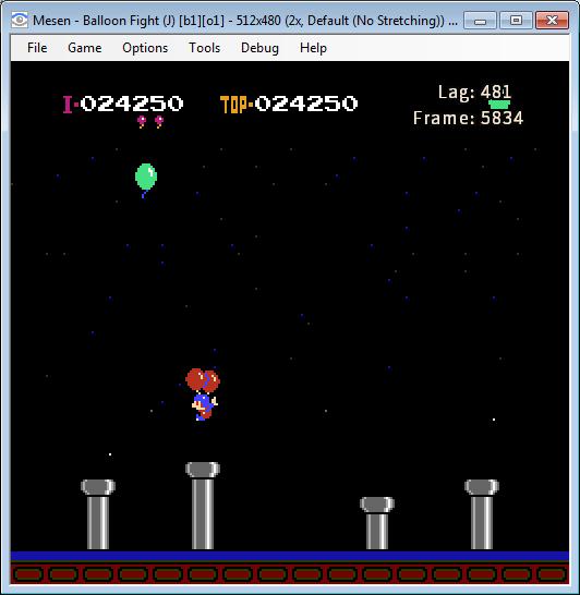 В NES версии задник всех бонус уровней одинаковый