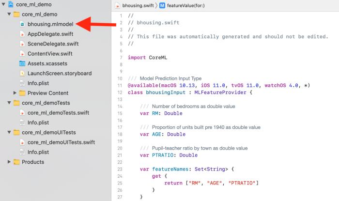Импорт файла .coreml в проект Xcode