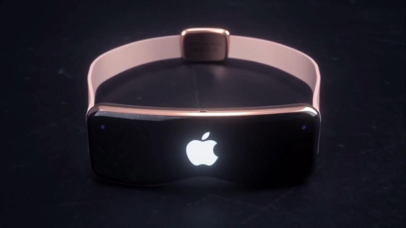 Концепт гарнитуры дополненной реальности от Apple
