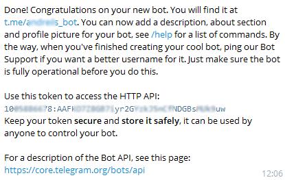 Пишем Telegram Bota для оповещения о коммите в git репозитарий на базе Gitea и разворачиваем его в Google Cloud Platform