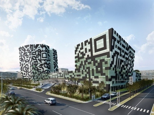 Проект бизнес-центра в ОАЭ