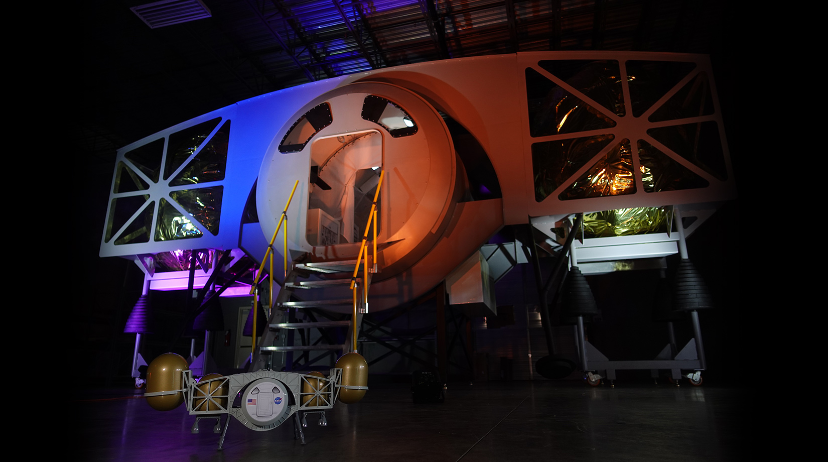 Лунный посадочный модуль Dynetics