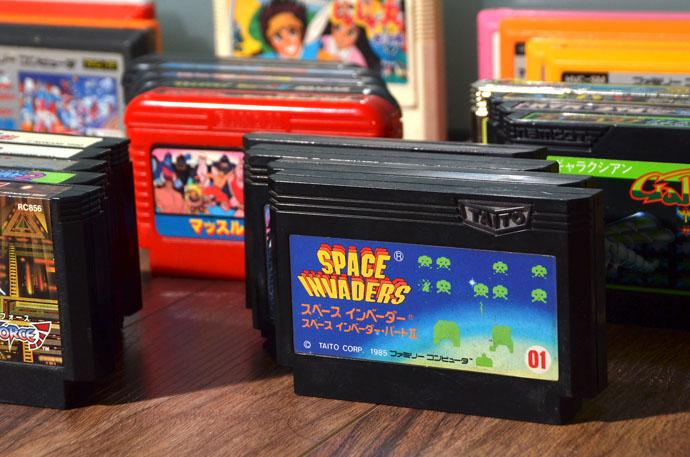 Картриджи для Famicom