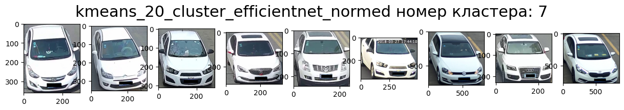Кластер 7 белые, перед, вправо, седан.
