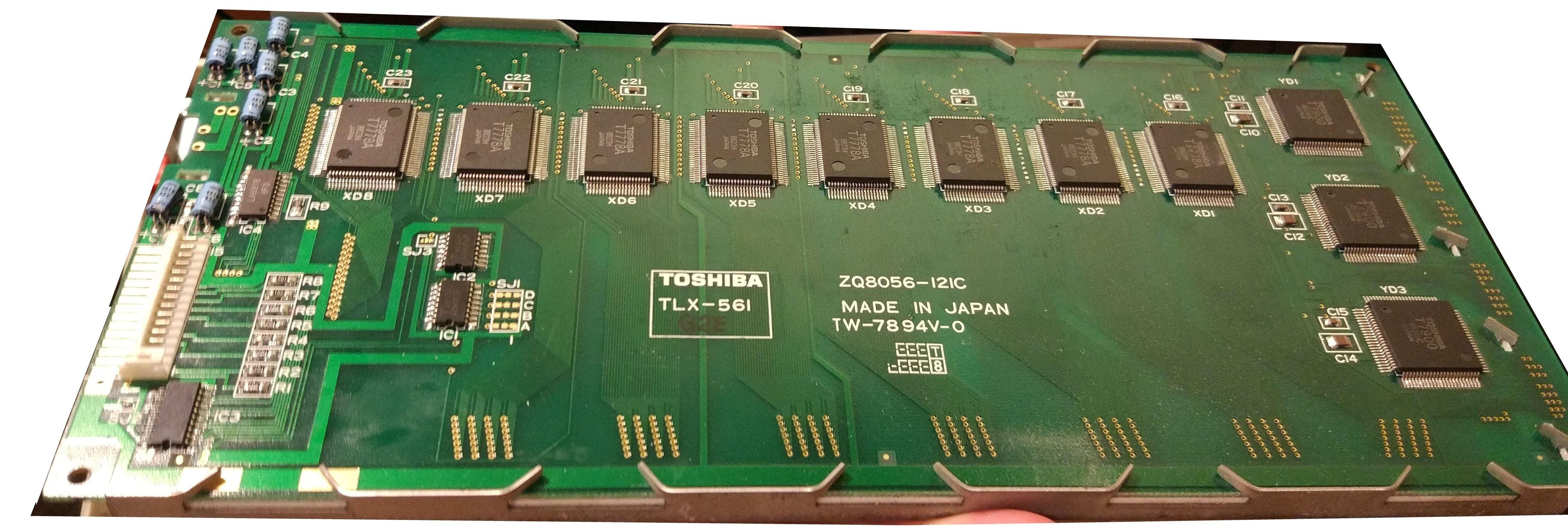 Дисплей Toshiba TLX-561 - такие устанавливались в некоторые ноутбуки Электроника