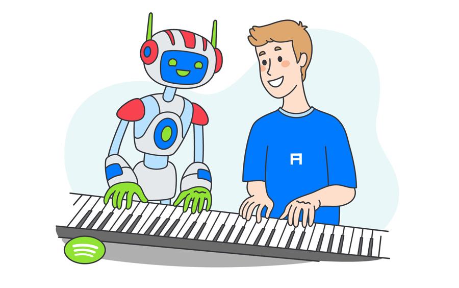 Перевод Детектор плагиата на базе ИИ в патенте Spotify на самом деле метод сбора данных?