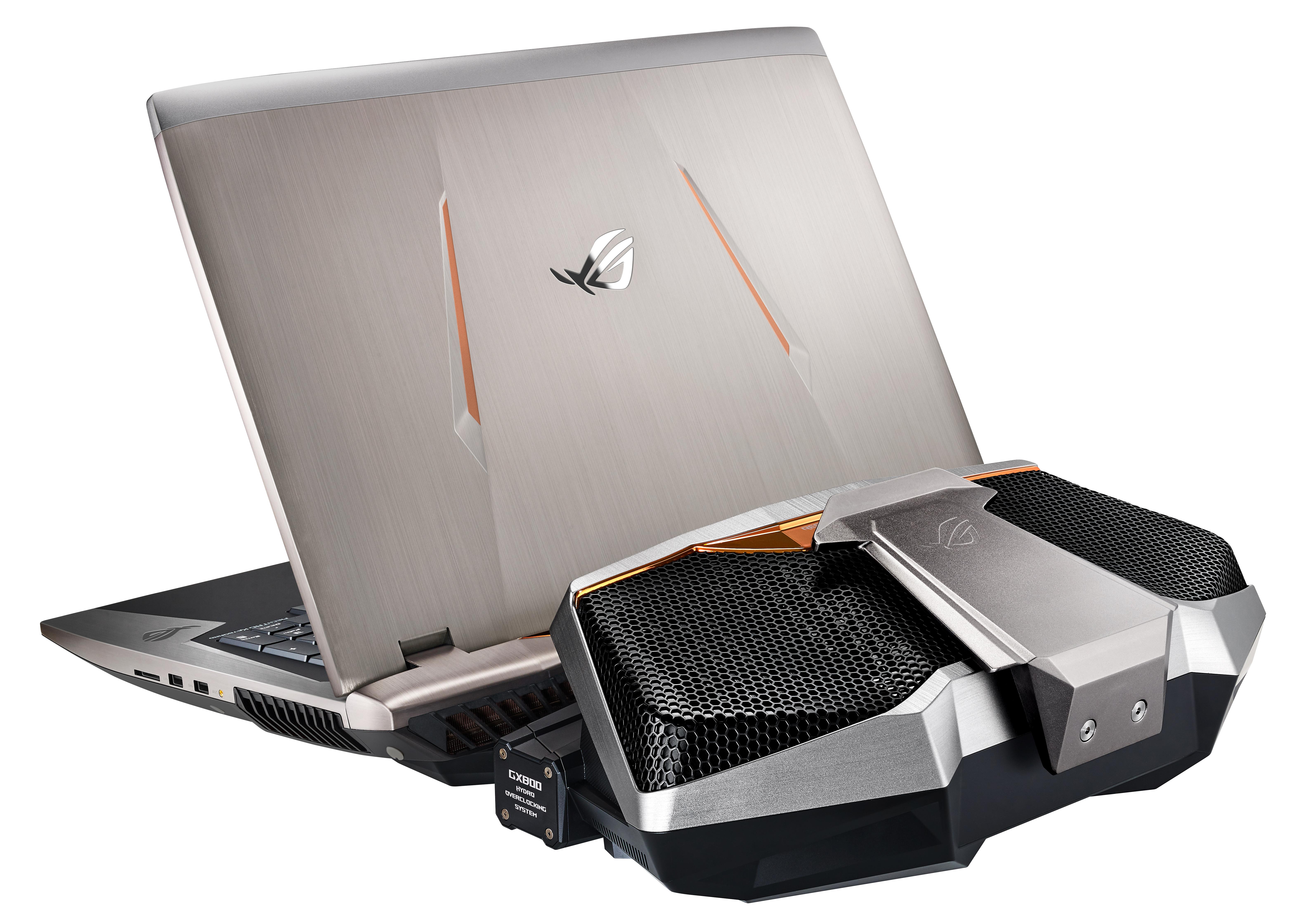 ROG GX700 с водяным охлаждением