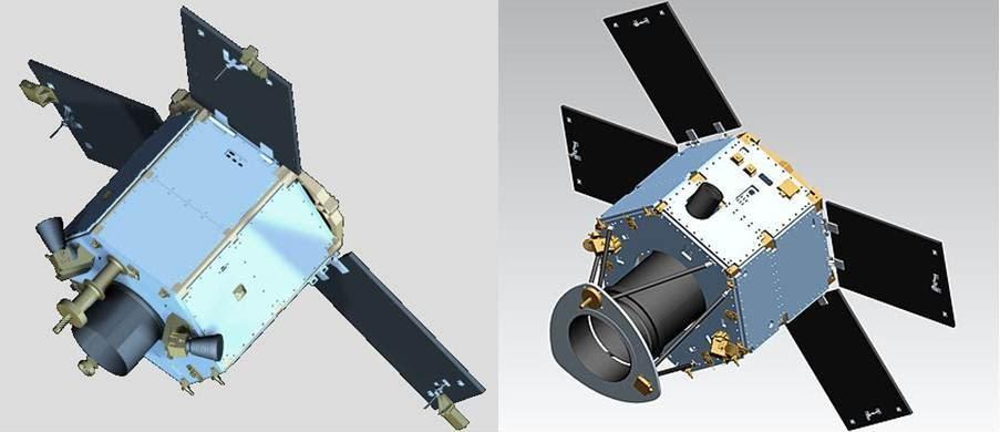 DubaiSat-1 и DubaiSat-2. Источник: EIAST