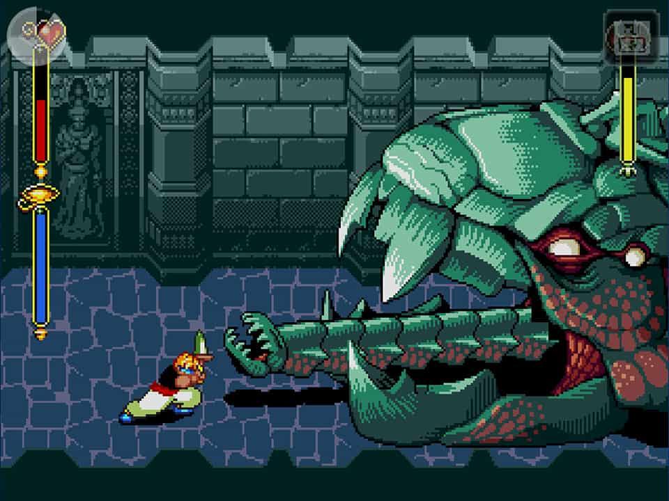 Beyond Oasis (Sega Megadrive/Genesis) - масштабная игра с эпичными боссами