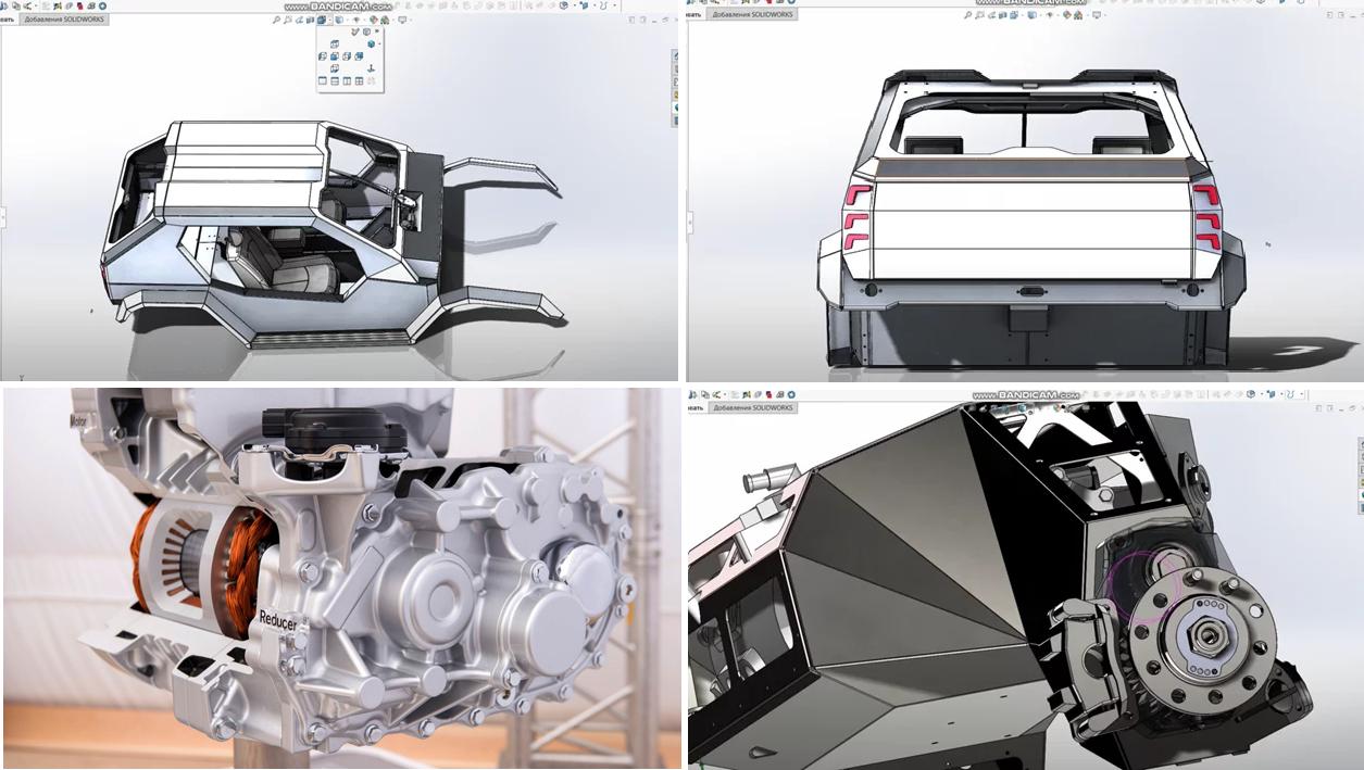 Проектирование и создание электровездехода нового формата. Восток