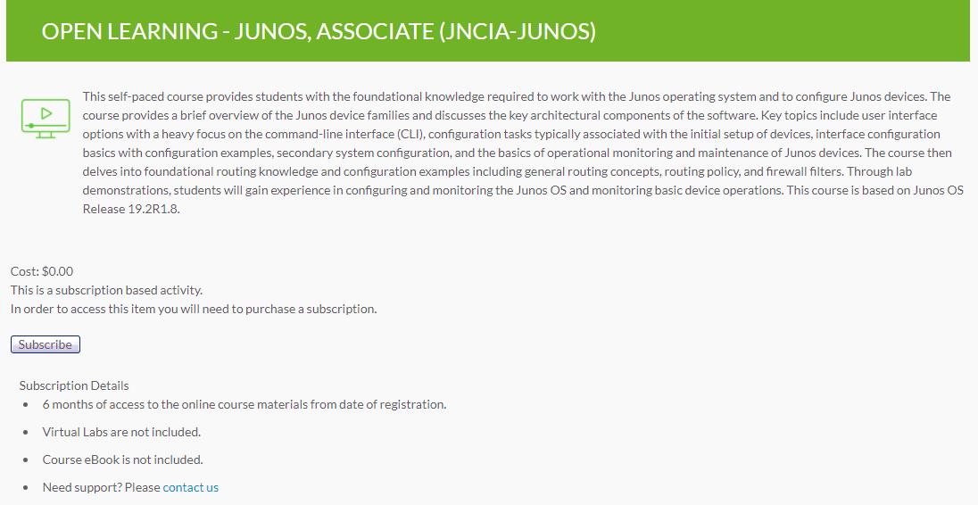 Как быстро подготовиться и бесплатно сдать экзамен Juniper JNCIA-Junos JN0-103