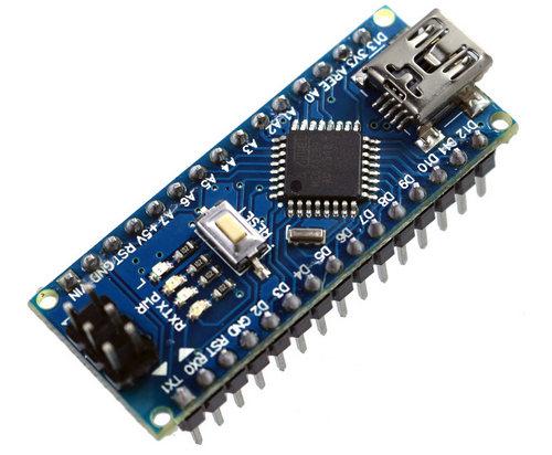 "Arduino nano с распаянными ""ногами"""