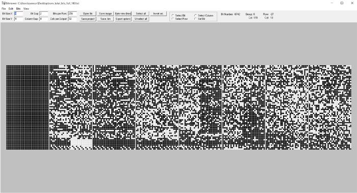 Экран, которым открывается Bitviewer