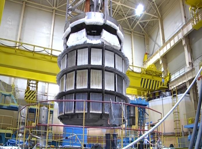 Установка для отжига реактора