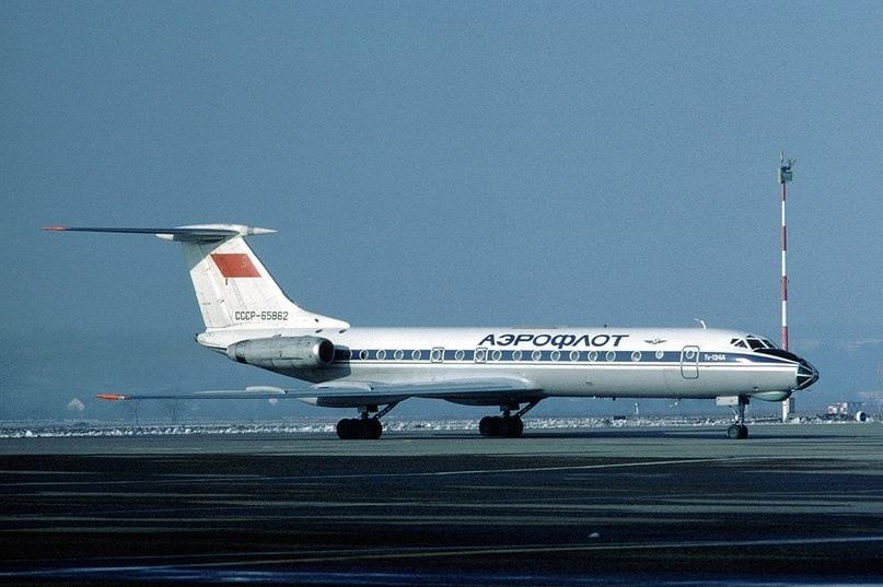 Ту-134А аналогичный тому, который угоняли 7 грузинских неадекватов