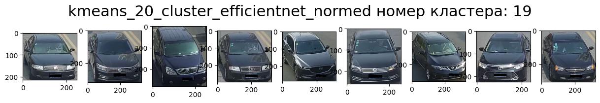 Кластер 19 чёрный, перед, вправо, седан.