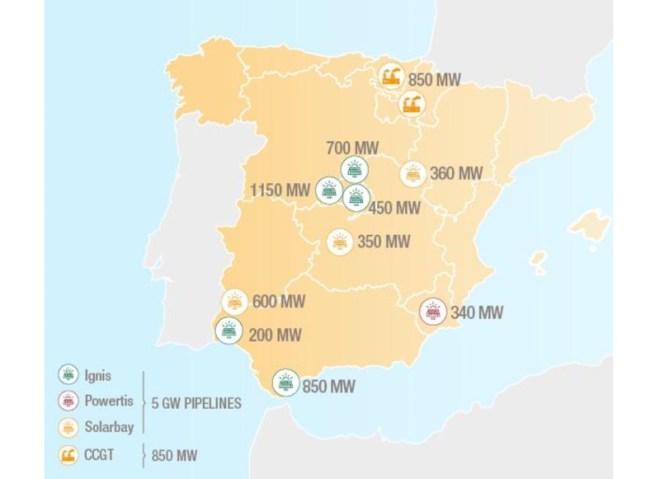солнечный портфель TOTAL — Испания
