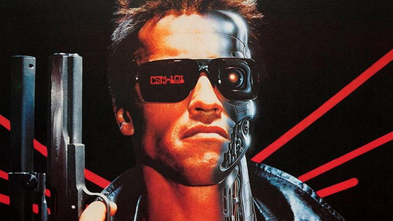 Постер к фильму «Терминатор»