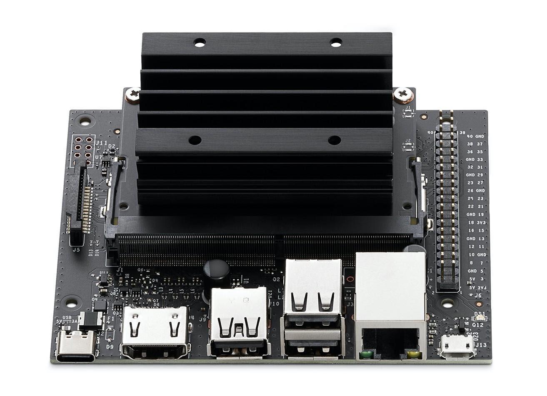 Компьютер Nvidia Jetson Nano 2GB имеет много общего с Raspberry Pi – оба представляют собой одноплатные компьютеры на ОС Linux. Отличие состоит в том, что с целью ускорения работы моделей глубокого обучения модуль Nvidia Jetson оснащён 128-ядерным графическим процессором Nvidia и поддерживает программно-аппаратную архитектуру параллельных вычислений (CUDA).